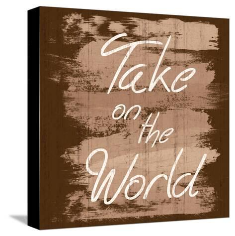Take The World-Lauren Gibbons-Stretched Canvas Print