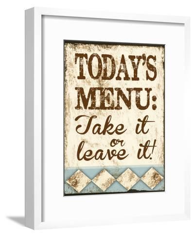 Take It or Leave It-Melody Hogan-Framed Art Print