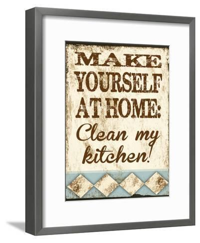 Clean My Kitchen-Melody Hogan-Framed Art Print