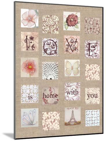 Love Tiles-Lorraine Rossi-Mounted Art Print