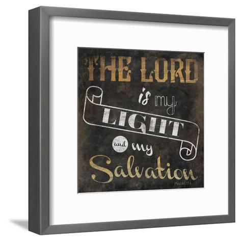 The Lord-Jace Grey-Framed Art Print