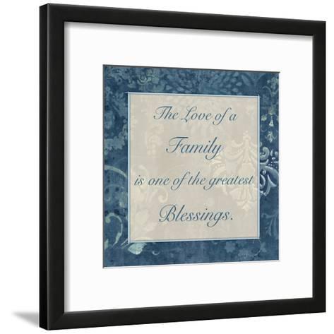 Greatest Blessings 3-Smith Haynes-Framed Art Print