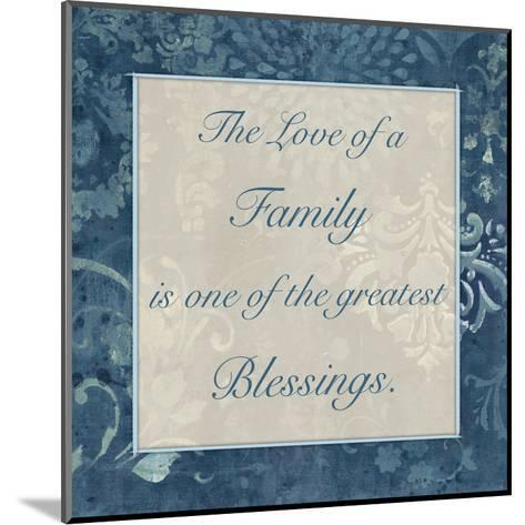 Greatest Blessings 3-Smith Haynes-Mounted Art Print