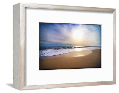 Sunset Beach-Suzanne Foschino-Framed Art Print
