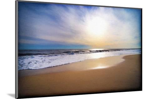 Sunset Beach-Suzanne Foschino-Mounted Art Print