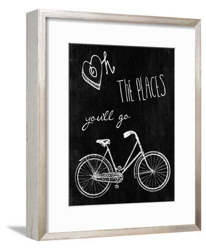 Oh The Places You'll Go-Sheldon Lewis-Framed Art Print