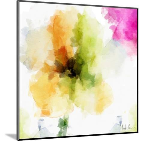 Watercolor Floral II-Taylor Greene-Mounted Art Print