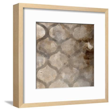 Metalic Ogee I-Taylor Greene-Framed Art Print