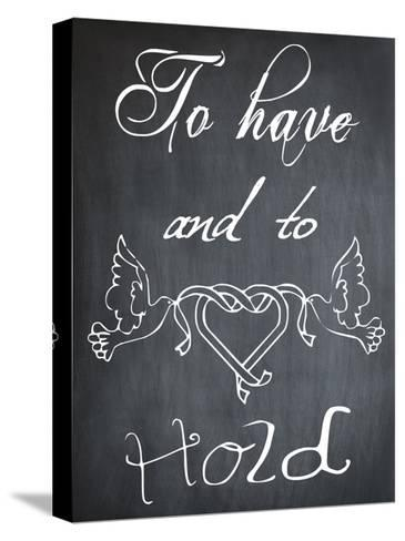 To Have And To Hold-Sheldon Lewis-Stretched Canvas Print