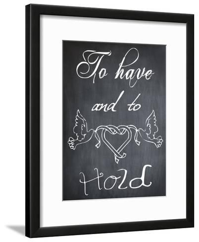 To Have And To Hold-Sheldon Lewis-Framed Art Print
