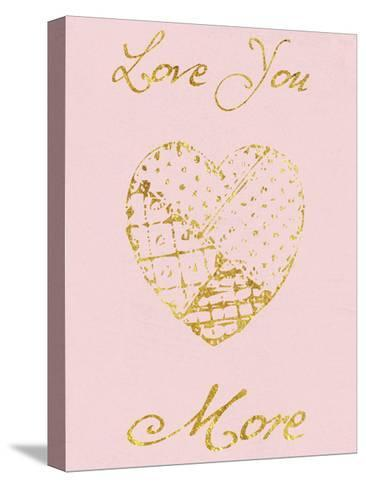 Love You More-Sheldon Lewis-Stretched Canvas Print