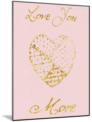 Love You More-Sheldon Lewis-Mounted Art Print