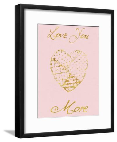 Love You More-Sheldon Lewis-Framed Art Print