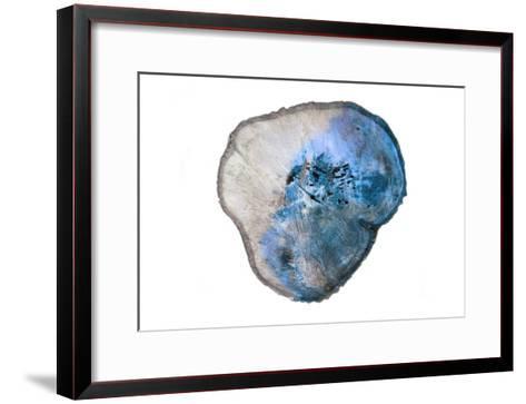 Blue Rings Of Saturn-Sheldon Lewis-Framed Art Print