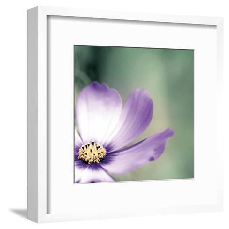 Lonely Lilac 1-Tracey Telik-Framed Art Print