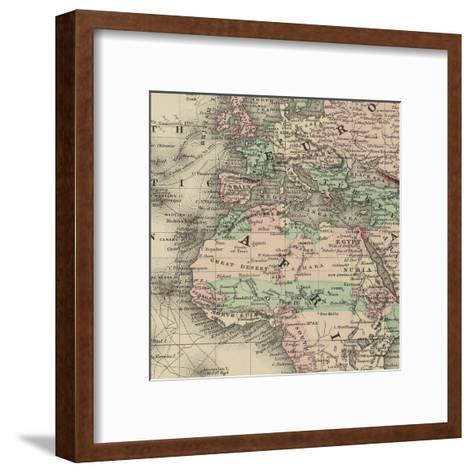 Africa Map-Ophelia & Co^-Framed Art Print
