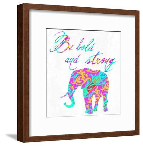 Boho Bold-Sheldon Lewis-Framed Art Print