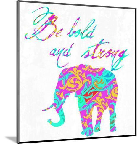 Boho Bold-Sheldon Lewis-Mounted Art Print