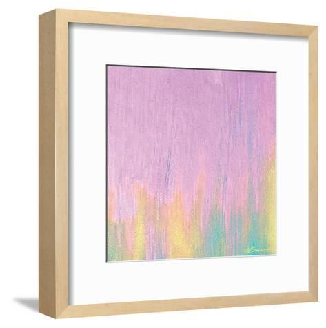 Cotton Candy 1-Victoria Brown-Framed Art Print