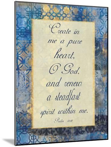 Pure Heart-Smith Haynes-Mounted Art Print