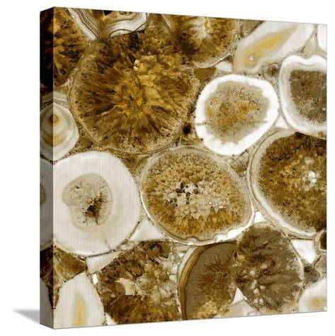 Agate in Gold II-Danielle Carson-Stretched Canvas Print
