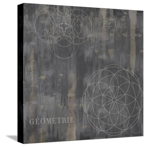 Géométrie IV-Oliver Jeffries-Stretched Canvas Print