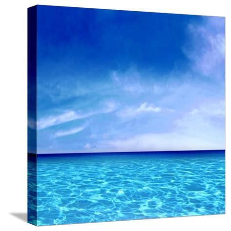 Sky and Water-Charlie Carter-Stretched Canvas Print