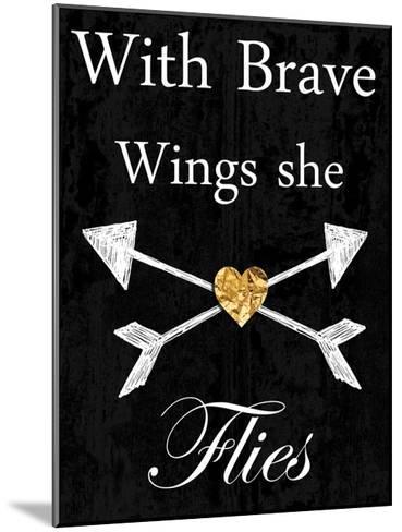 Brave Wings-Sheldon Lewis-Mounted Art Print