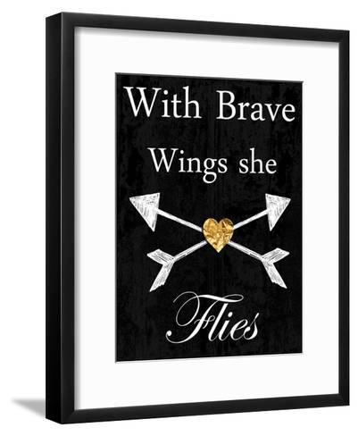 Brave Wings-Sheldon Lewis-Framed Art Print