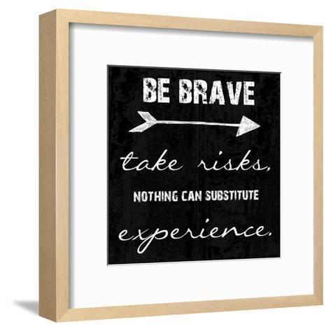 Bravery-Sheldon Lewis-Framed Art Print