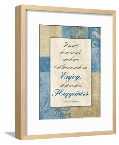Enjoy Happiness-Jace Grey-Framed Art Print