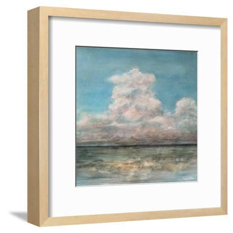 Cloud In The Distance-Peter Laughton-Framed Art Print