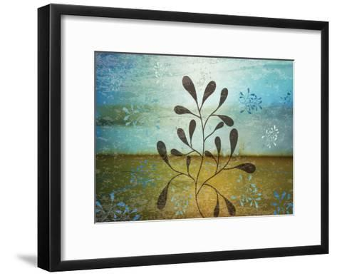Contemporary Florals 1-Melody Hogan-Framed Art Print
