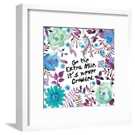 Floral Day-Victoria Brown-Framed Art Print