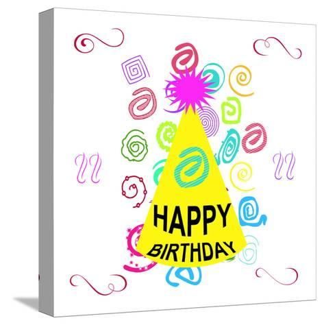 Birthday Time-Sheldon Lewis-Stretched Canvas Print