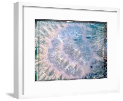 Blue Hue Minerals-Sandro De Carvalho-Framed Art Print