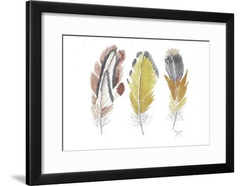 Earthy Flight 1-Beverly Dyer-Framed Art Print