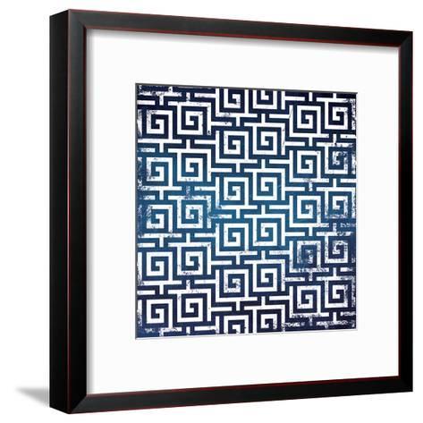 Blue Keys-Jace Grey-Framed Art Print