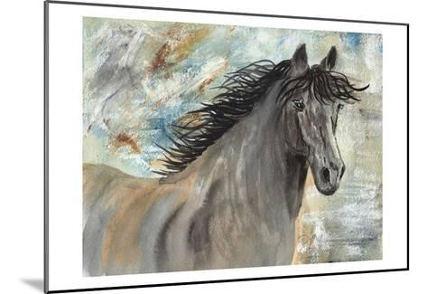 Run Like the Wind-Beverly Dyer-Mounted Art Print