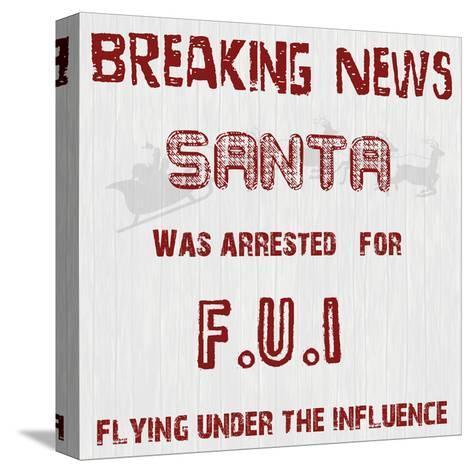 Santa's FUI-Sheldon Lewis-Stretched Canvas Print