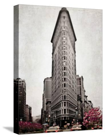 Sepia Flatiron-Tracey Telik-Stretched Canvas Print