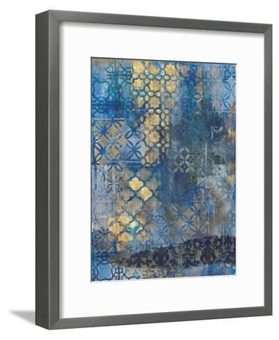 Ornate Azul A2-Smith Haynes-Framed Art Print
