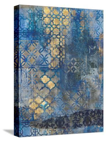 Ornate Azul A2-Smith Haynes-Stretched Canvas Print
