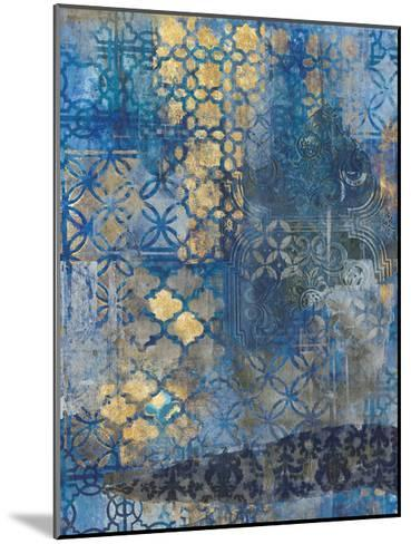 Ornate Azul A2-Smith Haynes-Mounted Art Print