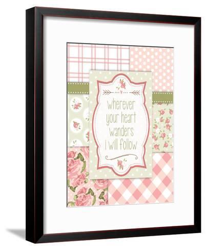 Vintage Romance 03-Melody Hogan-Framed Art Print