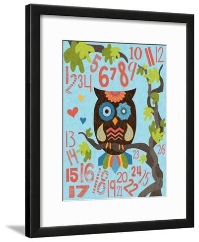 Owl Set Numlet 2-Melody Hogan-Framed Art Print
