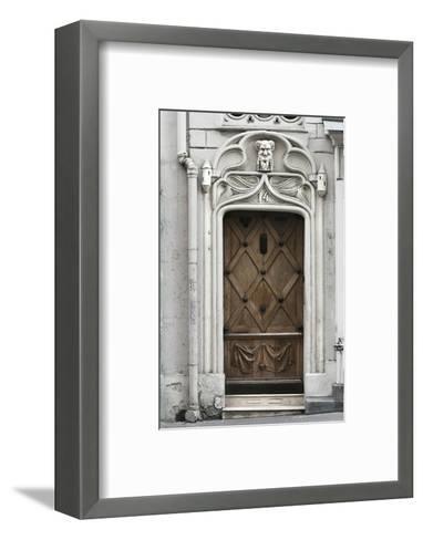 Paris Door-Tracey Telik-Framed Art Print