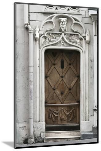 Paris Door-Tracey Telik-Mounted Art Print
