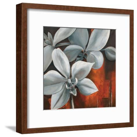 Pearl Orchid II-Rian Withaar-Framed Art Print