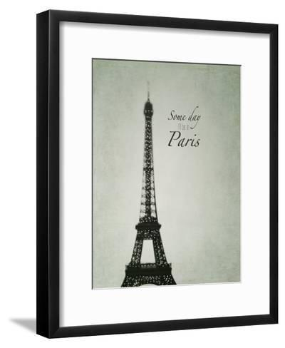 Someday Paris-Tracey Telik-Framed Art Print